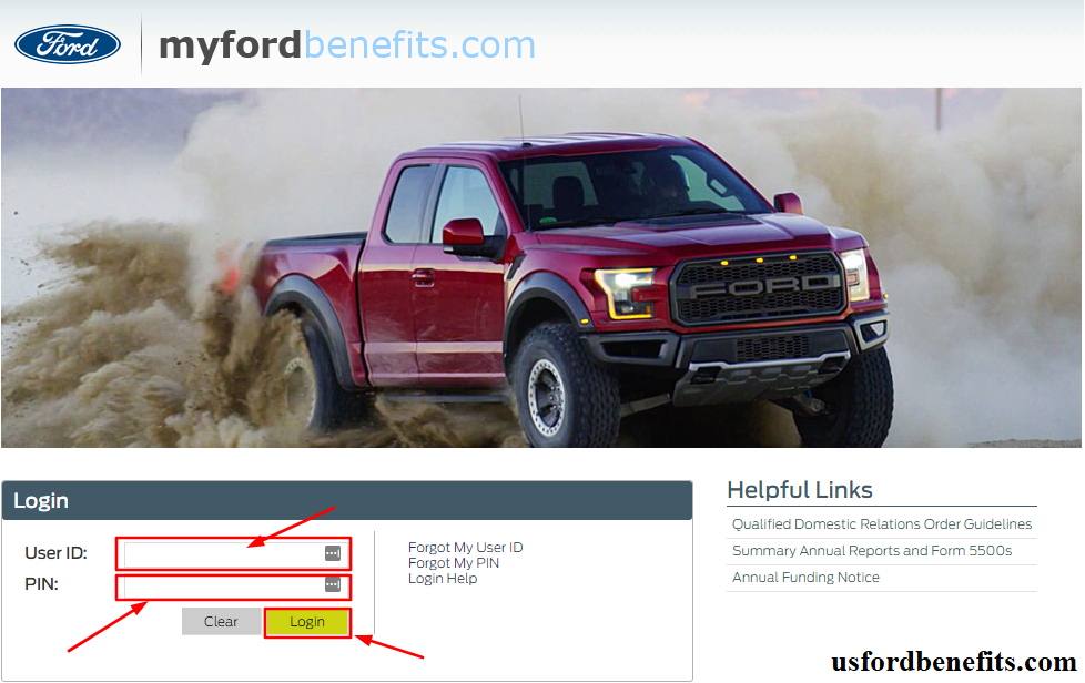 myfordbenefits login retirees